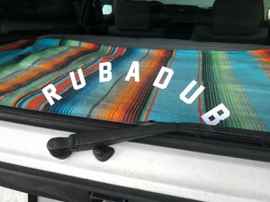 Rubadub Basic Arch Decal