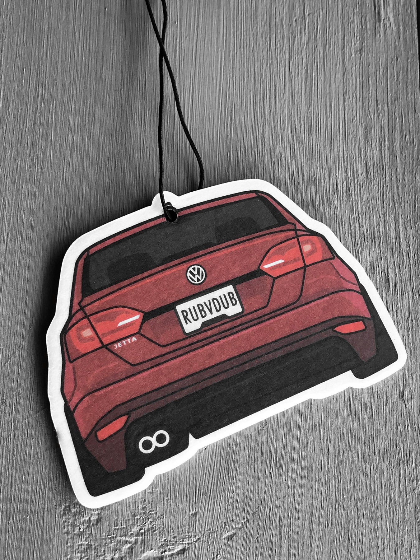 red mk6 jetta air freshener