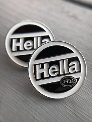 Hella Bored Enamel Pin