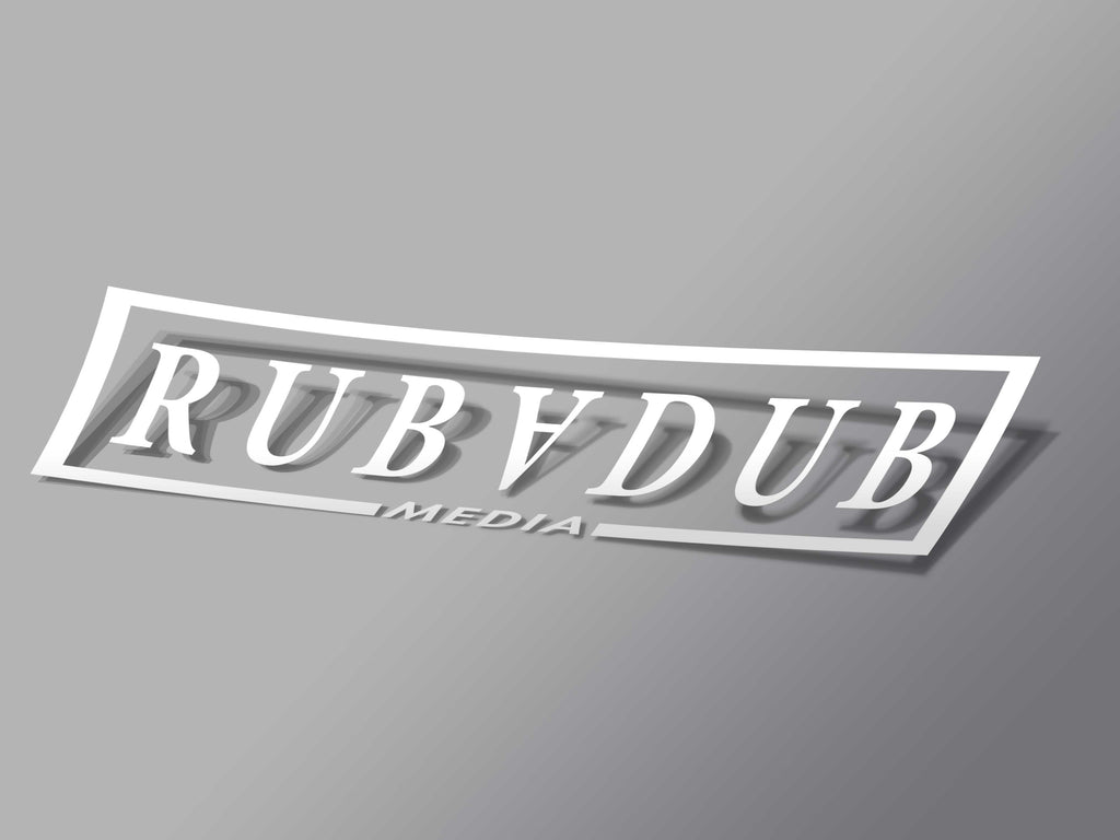Rubadub Media Logo Decal