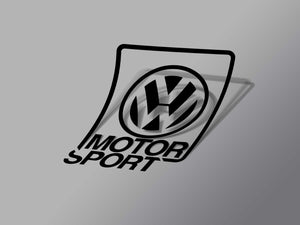 VWMS Decal Black