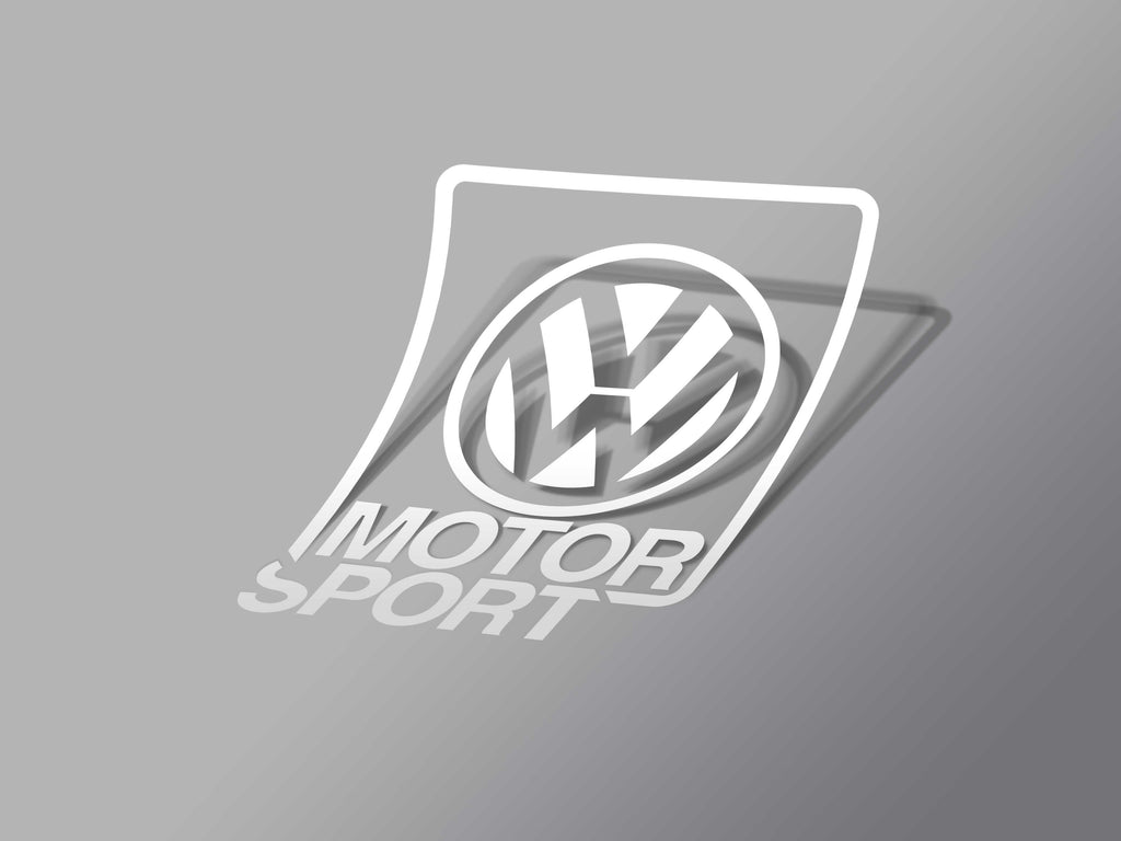 VWMS Decal White