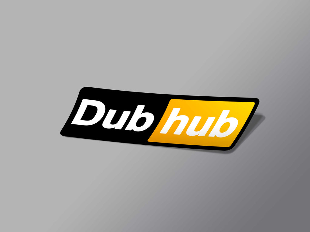 Dub Hub Sticker