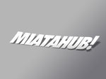 MIATAHUB! Decal