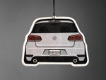 mk6 golf gti rear stance white