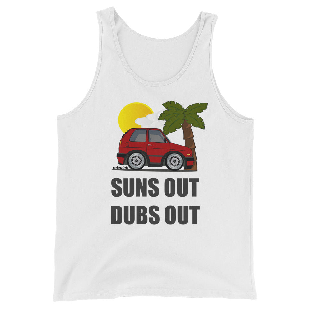 Suns Out Dubs Out Tank Top