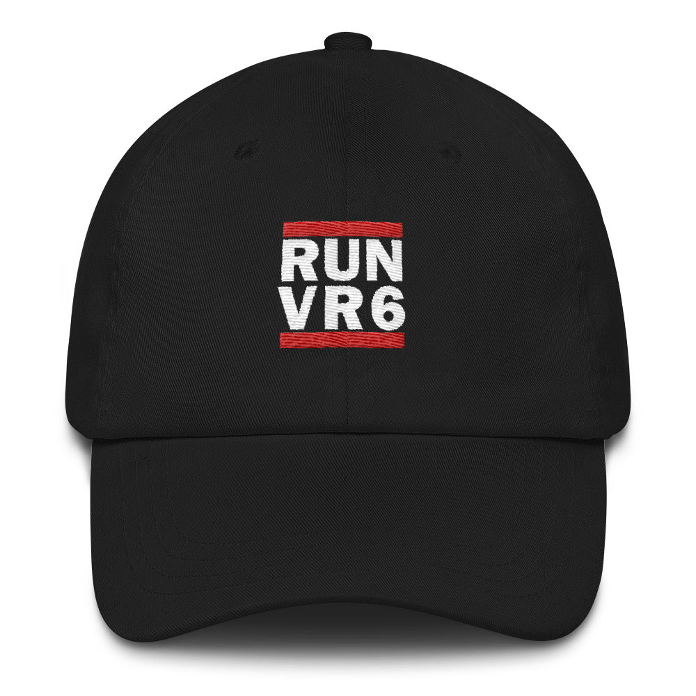 RUN VR6 Embroidered Cap