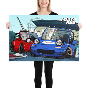 Miata Crossing - Monthly Poster (May 2020) Poster
