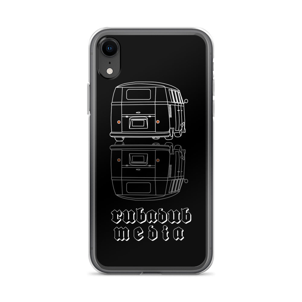 vw bus kombi stance rear phone case iphone samsung