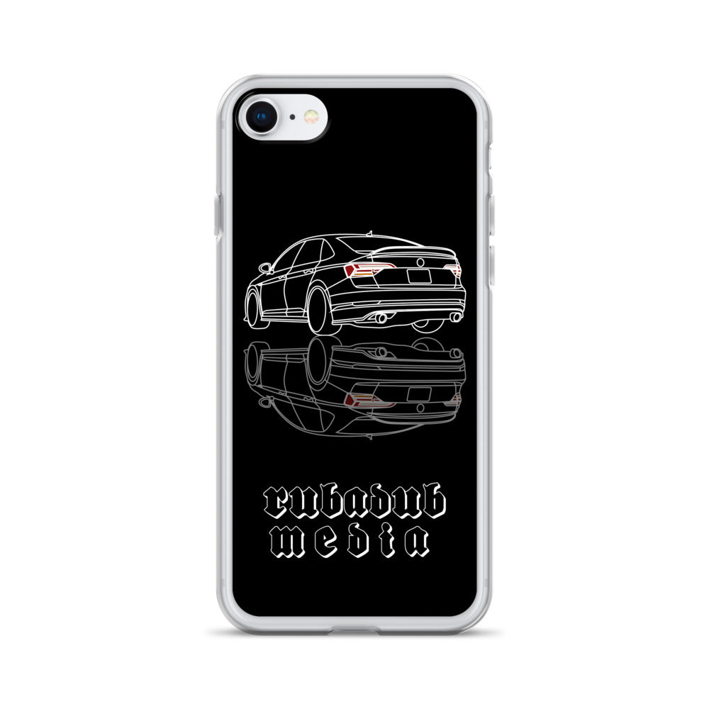 Mk7 Jetta iPhone Case