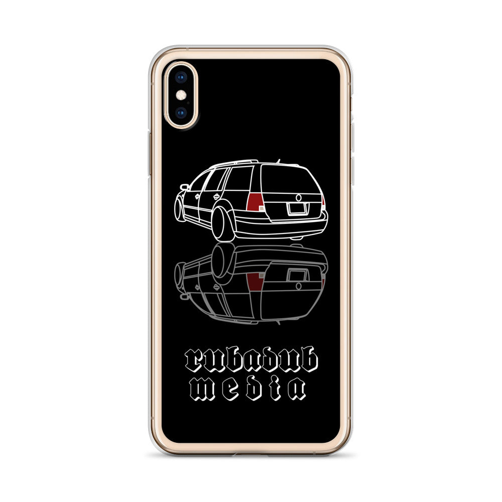 Mk4 Wagon / Estate iPhone Case