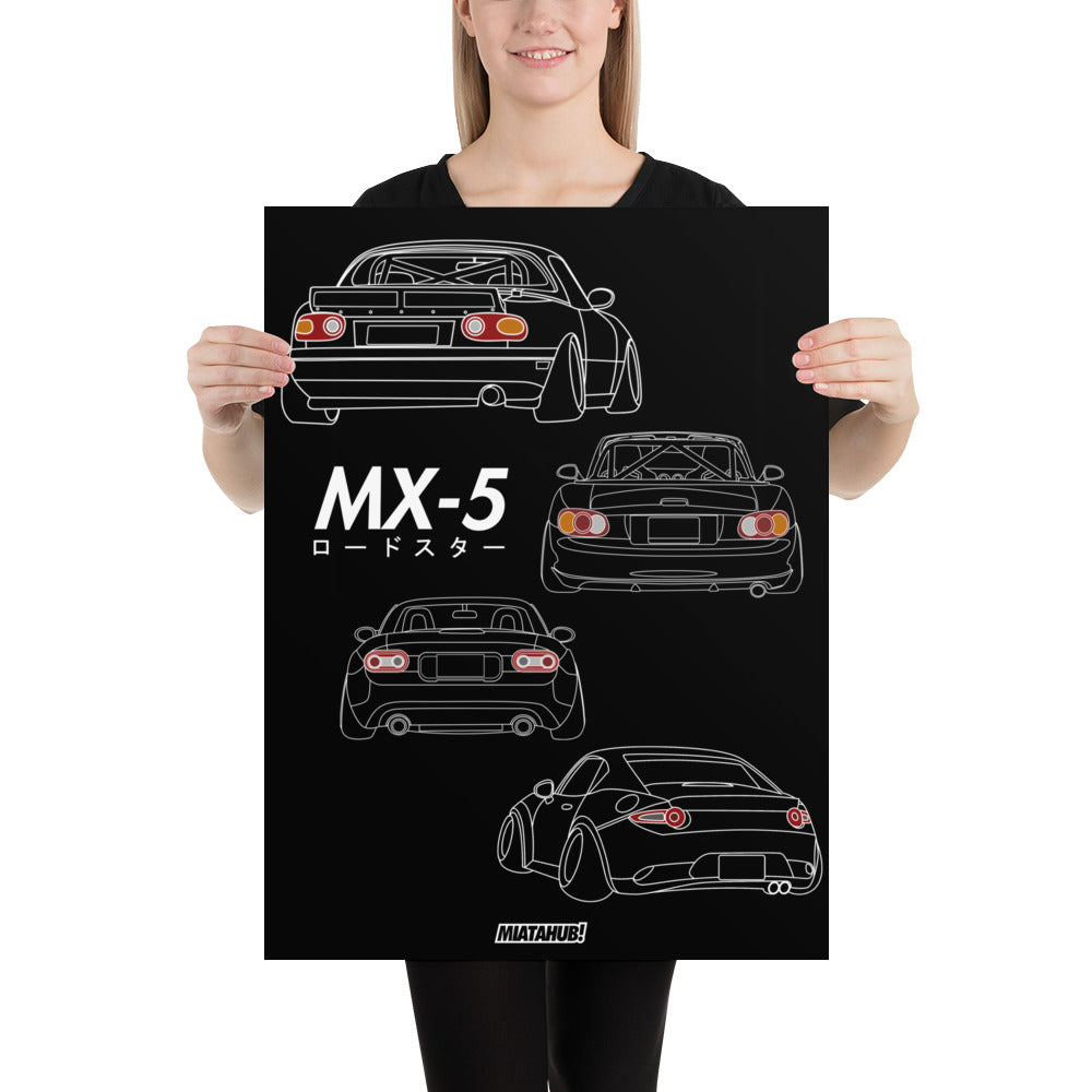 MX-5 Lifestyle Poster