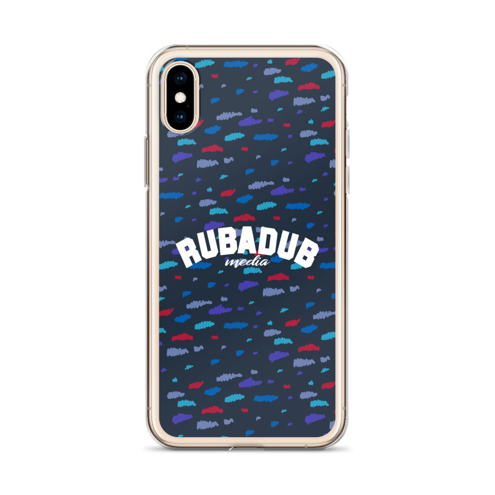 Rubadub Retro Confetti iPhone Case