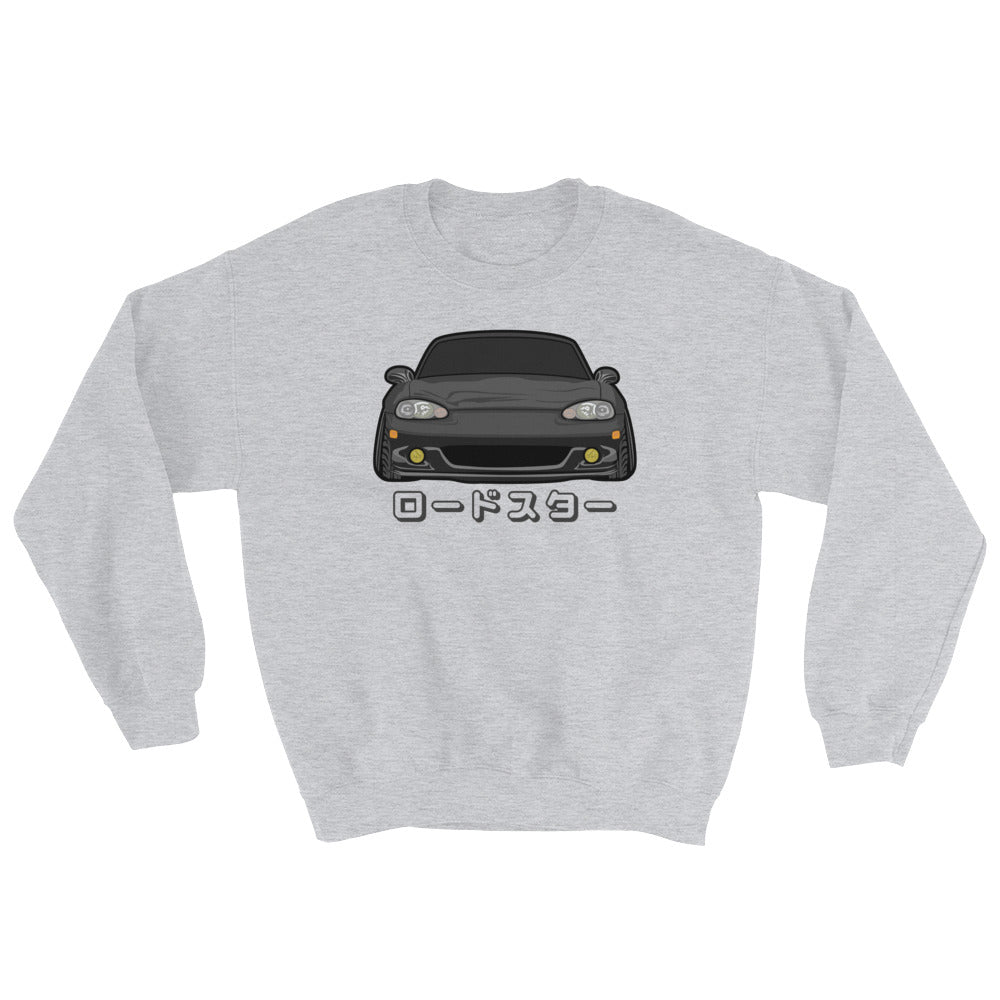 Black NB Miata Crewneck