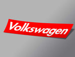 Volkswagen Box Logo Decal