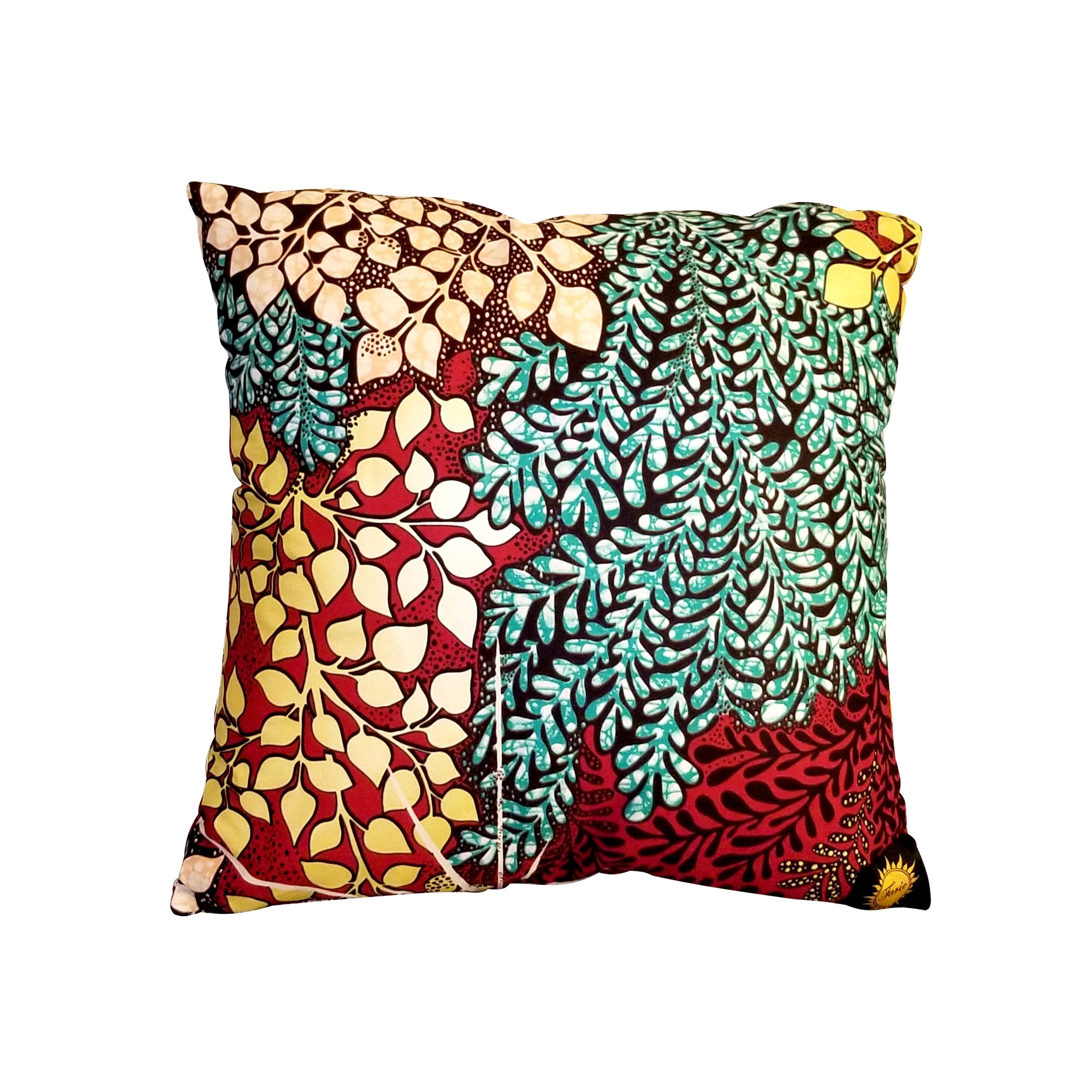 Ankara Square Cotton Pillow Cover Insert Multi Farie S Collection