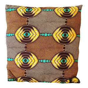 Chido Decorative Pillows-Brown/Gold