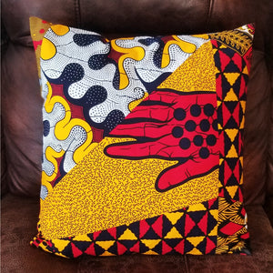 Chido Decorative Pillows-Yellow/Red