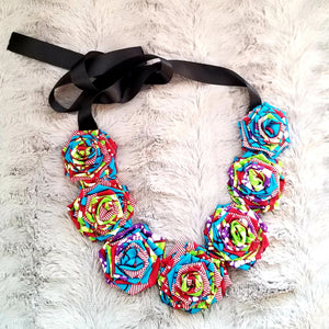 Kumusha Flower Necklace Only