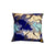 Ankara Square Cotton Pillow Cover & Insert Blue