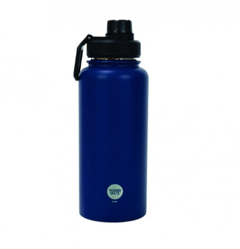 WaterMate Stainless Steel Bottle - 550ml - Navy