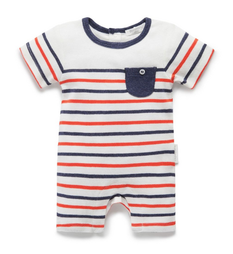 Pure Baby Growsuit - Little League -  now $20!