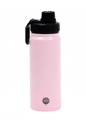 WaterMate Stainless Steel Bottle - 550ml - Pale pink - were $34.95, now