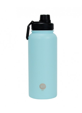 WaterMate Stainless Steel Bottle - 550ml - Powder blue