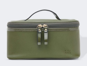 Cosmetic Bag - Paris - Khaki - WAS $34.95 now $24.95