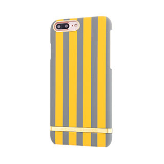 iPhone 8 Plus/7 Plus Richmond & Finch Mustard Satin Stripes Case