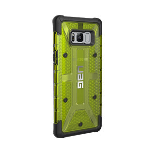 Samsung Galaxy S8 Plus UAG Citron/Black Plasma Series case