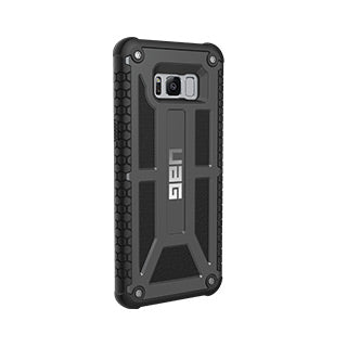 Samsung Galaxy S8 Plus UAG Black (Graphite) Monarch case