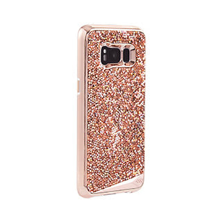 Samsung Galaxy S8 Case-mate Rose Gold Brilliance Tough case