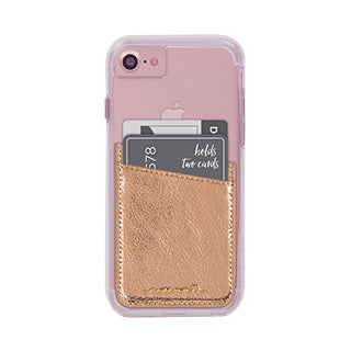 Universal Case-mate Rose Gold ID Pocket