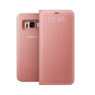Samsung Galaxy S8 OEM Pink LED View Cover