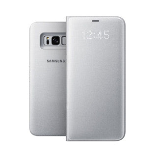 Samsung Galaxy S8 Plus OEM Silver LED View Cover