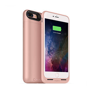 iPhone 8 Plus/7 Plus mophie rose gold juice pack air case