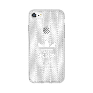 iPhone 8/7 ADIDAS Clear/White Case