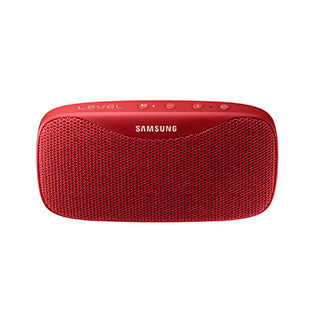 Samsung OEM Red Level Box Slim Portable BT Speaker
