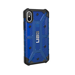 iPhone X/Xs UAG Cobalt/Black Plasma Series case