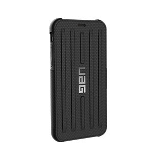 iPhone X/Xs UAG Black/Silver Metropolis Series Folio case