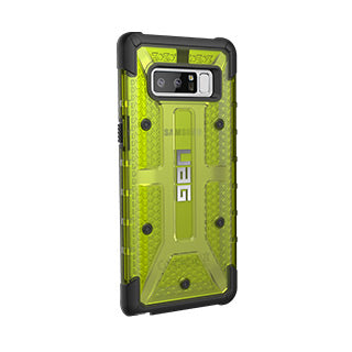 Samsung Galaxy Note 8 UAG Citron/Black Plasma Series case