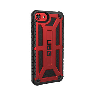 iPhone 8/7/6S/6 UAG Red/Black (Crimson) Monarch Series case