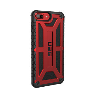 iPhone 8 Plus/7 Plus/6S Plus/6 Plus UAG Red/Black (Crimson) Monarch Series case