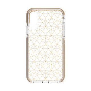 iPhone X/Xs Gear4 D3O Geometric Gold Victoria case