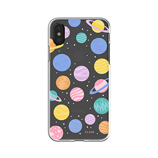 iPhone X/Xs FLAVR Happy Planets iPlate case