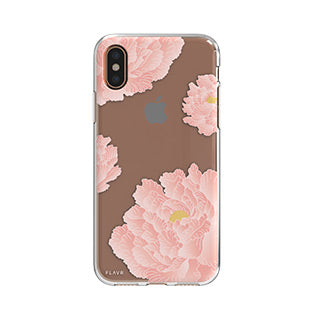 iPhone X/Xs FLAVR Pink Peonies iPlate case