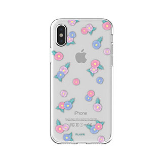 iPhone X/Xs FLAVR Tiny Flowers iPlate case