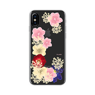 iPhone X/Xs FLAVR Grace Real Flower iPlate case