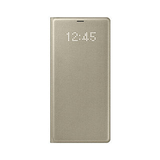 Samsung Galaxy Note 8 OEM Gold LED View Cover